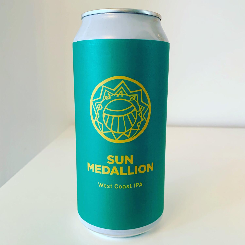 NEW Pomona Island 'Sun Medallion' West Coast IPA 440ml - 7%
