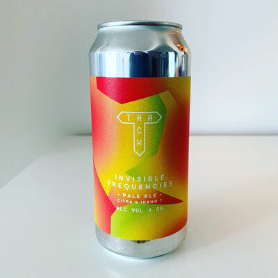 NEW Track '​Invisible Frequencies' Pale 440ml - 4.8%