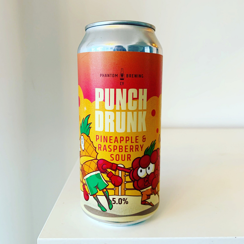 NEW Phantom 'Punch Drunk' Raspberry & Pineapple Sour 440ml - 5%