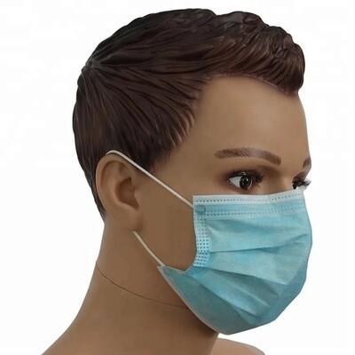 Mund Nasen Schutzmasken 3-lagig BFE 95%