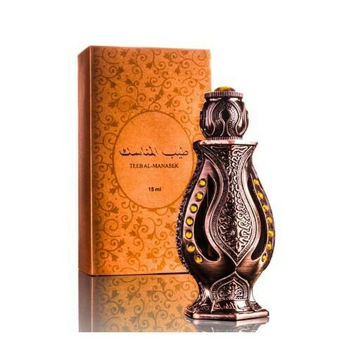 Teeb Al Manasik Jasmin & Sandelwood oriental perfume