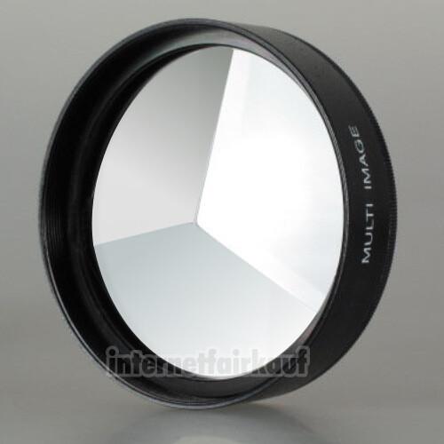 3-fach Multi Image Filter Prisma Tricklinse 62mm