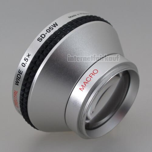 Kenko SD-05W Weitwinkel Vorsatzlinse 0.5x