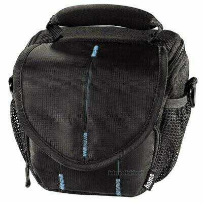 Hama Kameratasche Fototasche schwarz/blau passend für Sony DSC-HX400V HX350 HX300