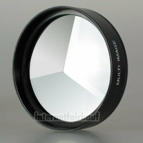 3-fach Multi Image Filter Prisma Tricklinse 52mm