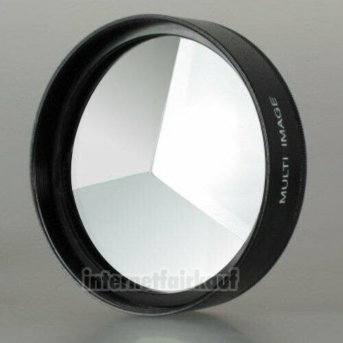 3-fach Multi Image Filter Prisma Tricklinse 55mm