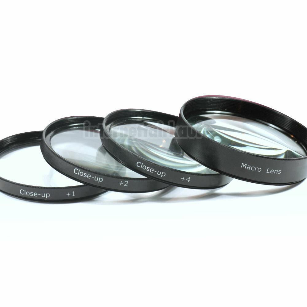 Nahlinsen Set passend für Canon EOS 4000D 2000D 800D 200D und 18-55 Obj.