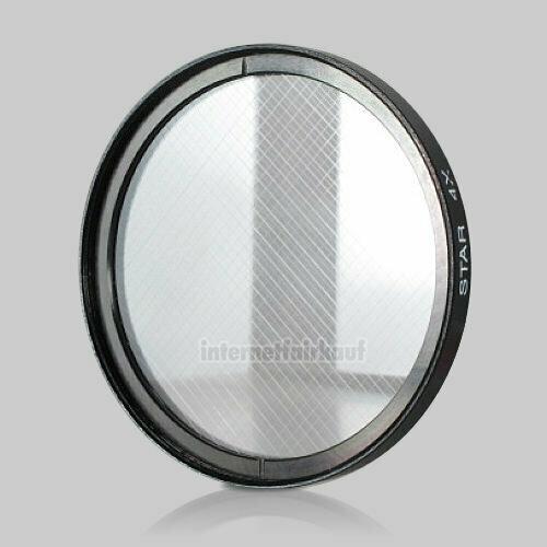 4x Sternfilter / 4-fach Cross Starlight Filter 52mm