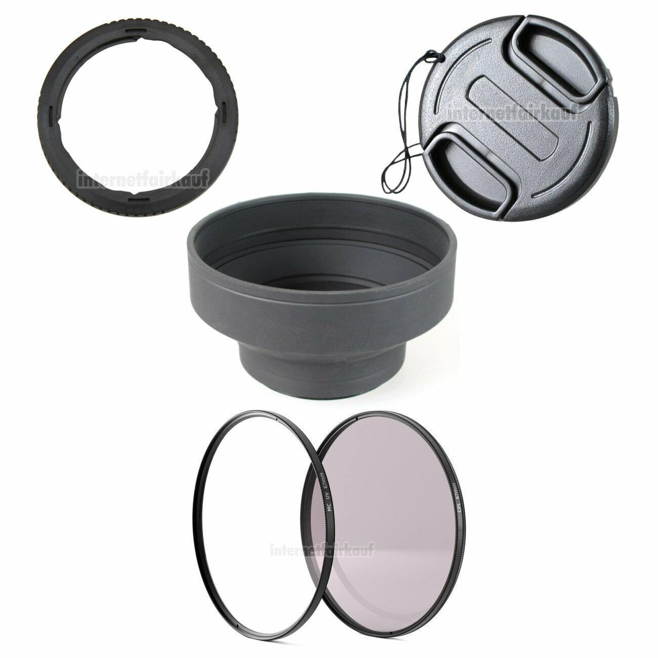 5-teiliges Zubehörset für Canon G3X SX540HS SX530HS SX520HS SX70HS SX60HS