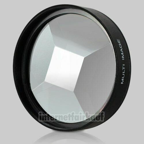 5-fach Multi Image Filter Prisma Tricklinse 62mm