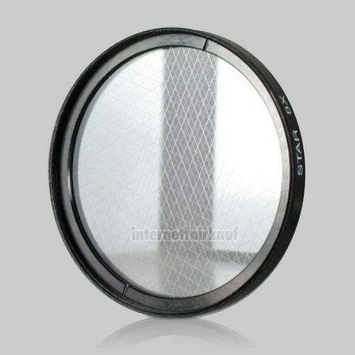 8x Sternfilter / 8-fach Cross Starlight Filter 58mm