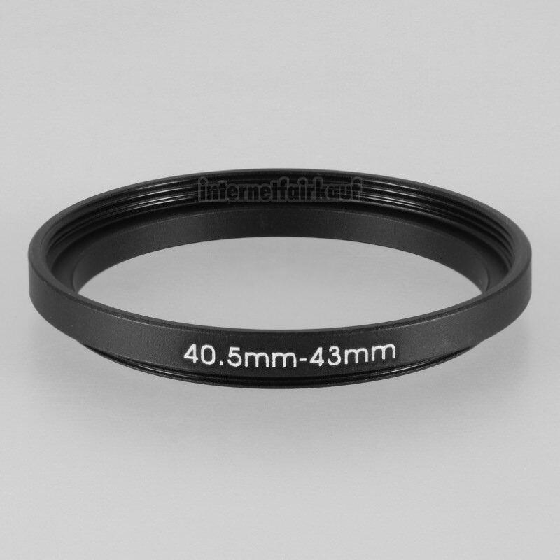 40.5-43mm Adapterring Filteradapter
