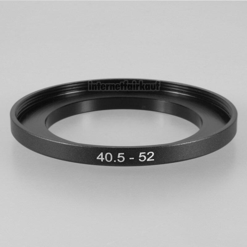 40.5-52mm Adapterring Filteradapter