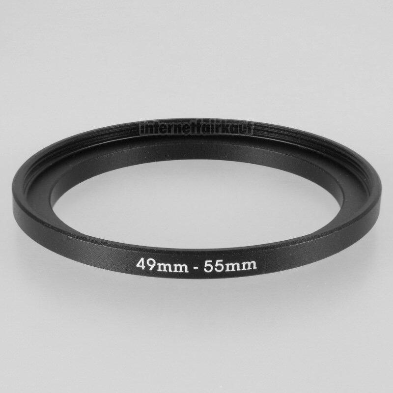 49-55mm Adapterring Filteradapter