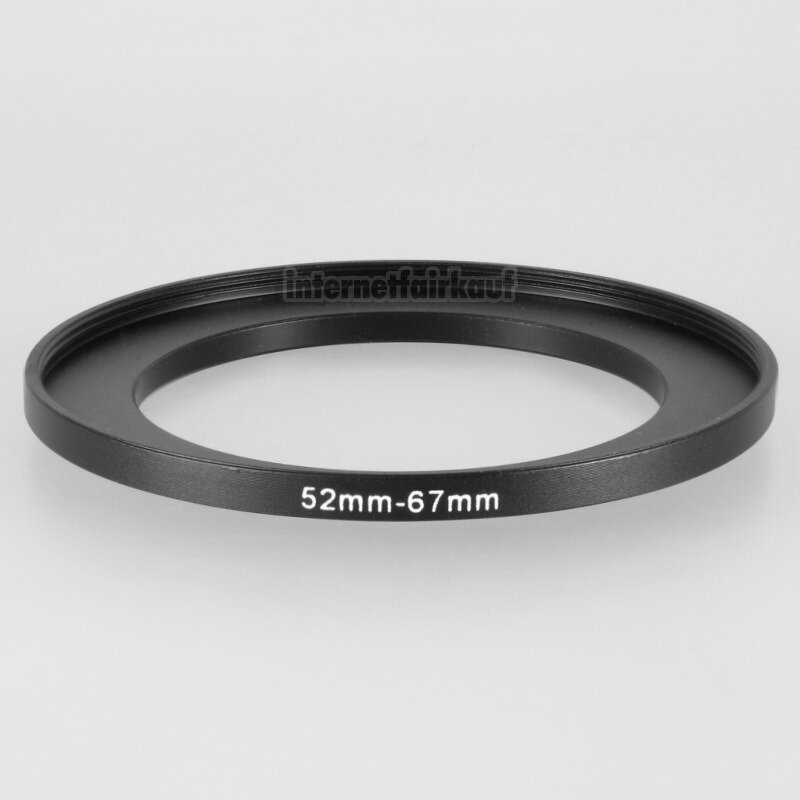 52-67mm Adapterring Filteradapter