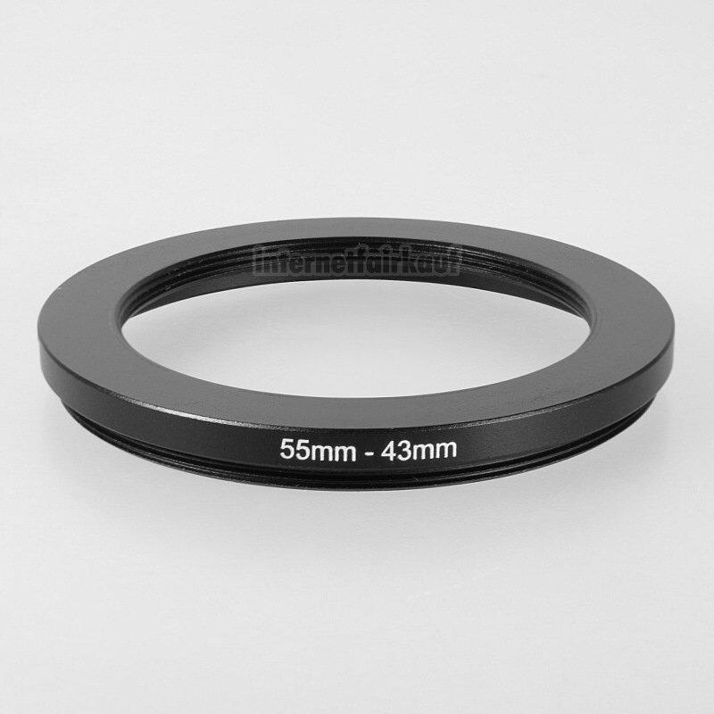 55-43mm Adapterring Filteradapter