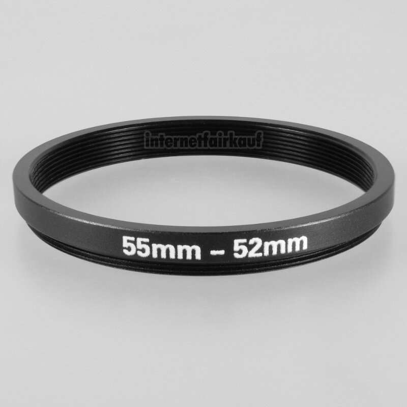 55-52mm Adapterring Filteradapter