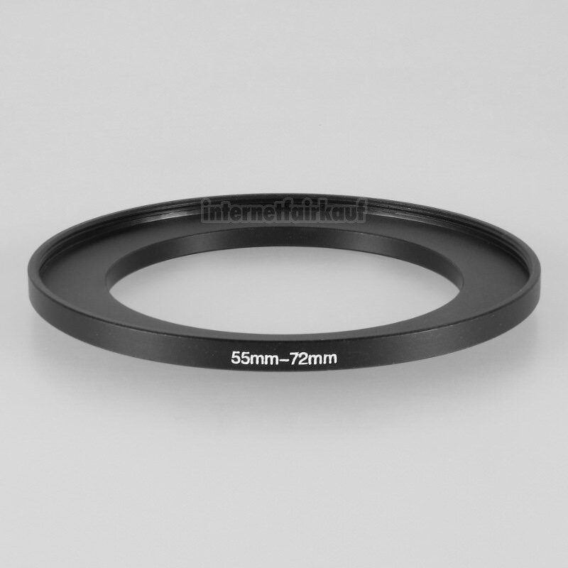 55-72mm Adapterring Filteradapter