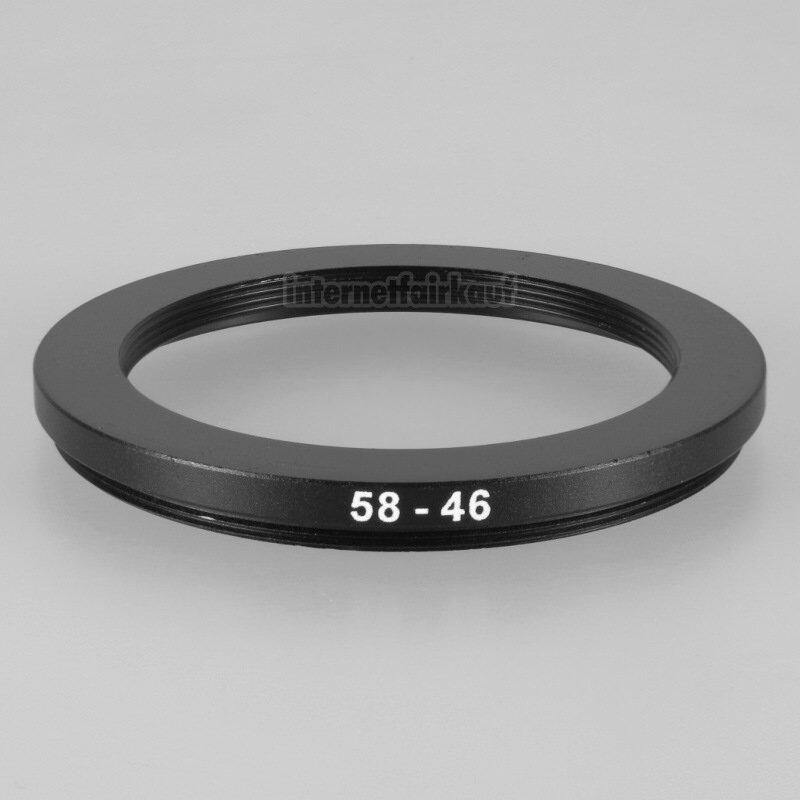 58-46mm Adapterring Filteradapter