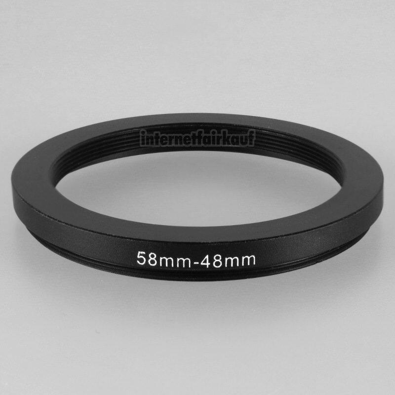 58-48mm Adapterring Filteradapter