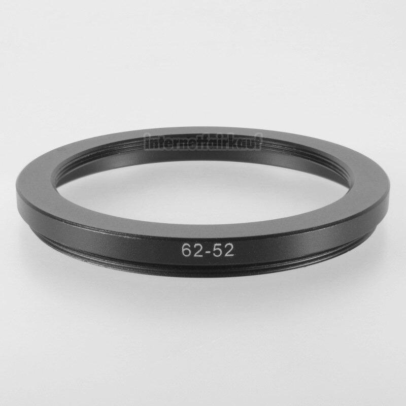 62-52mm Adapterring Filteradapter