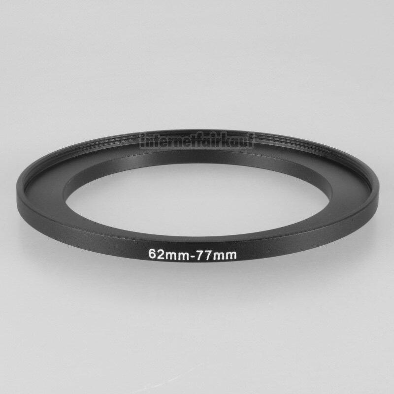 62-77mm Adapterring Filteradapter