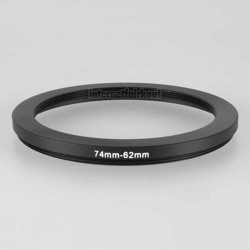 74-62mm Adapterring Filteradapter