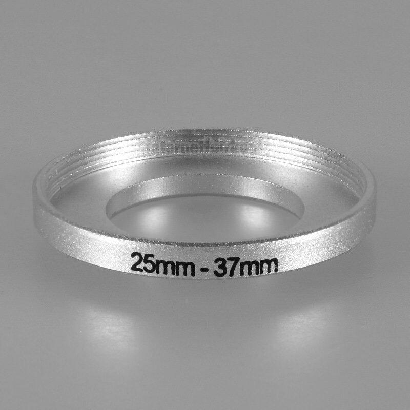 25-37mm Adapterring Filteradapter silber