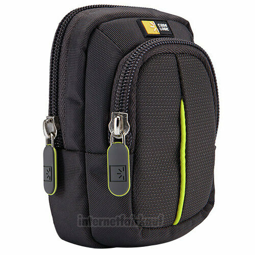 Kameratasche Fototasche anthrazit passend für Panasonic DMC-TZ58