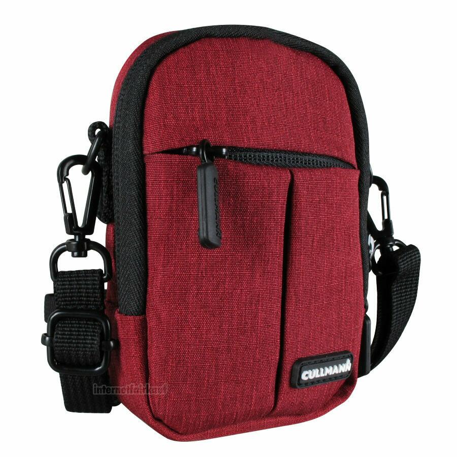 Kameratasche Schultertasche rot passend für Nikon Coolpix S33 S32 W150 W100