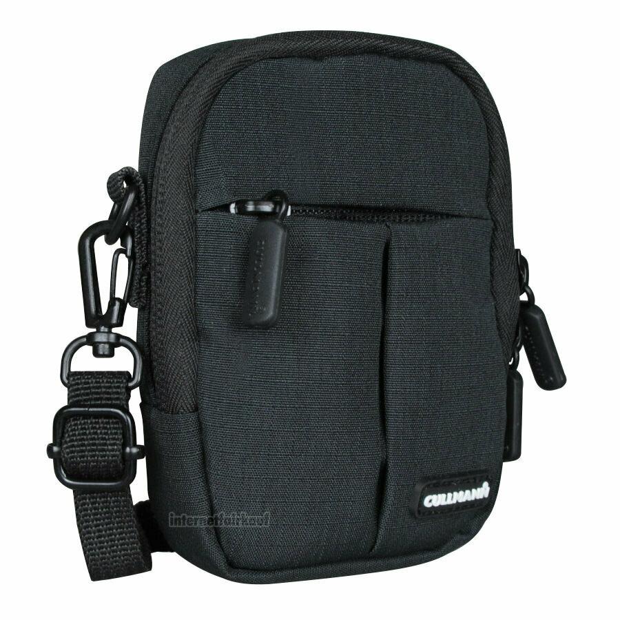 Kameratasche Schultertasche schwarz passend für Panasonic Lumix DMC-TZ18 TZ22