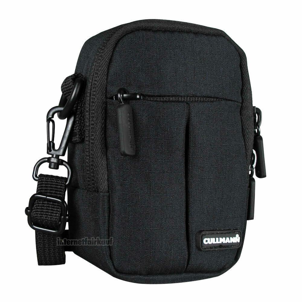 Gürteltasche Schultertasche schwarz passend für Panasonic Lumix DMC-TZ61 DMC-TZ71