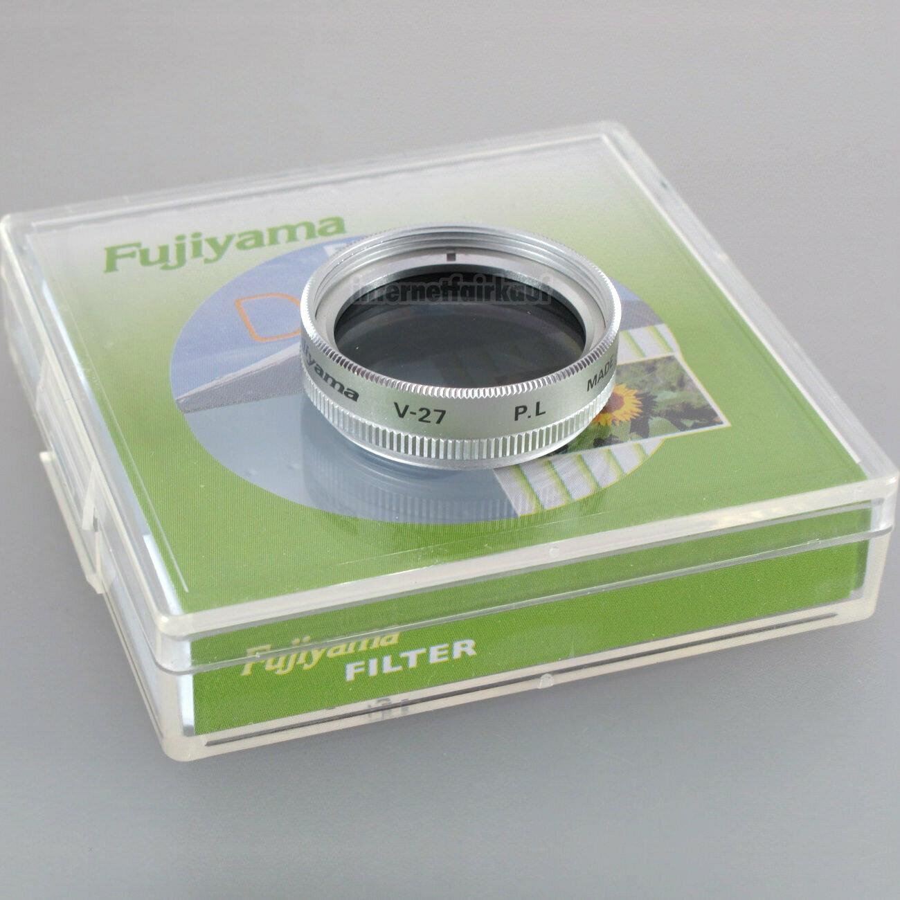 Polarisationsfilter Polfilter 27mm, silber