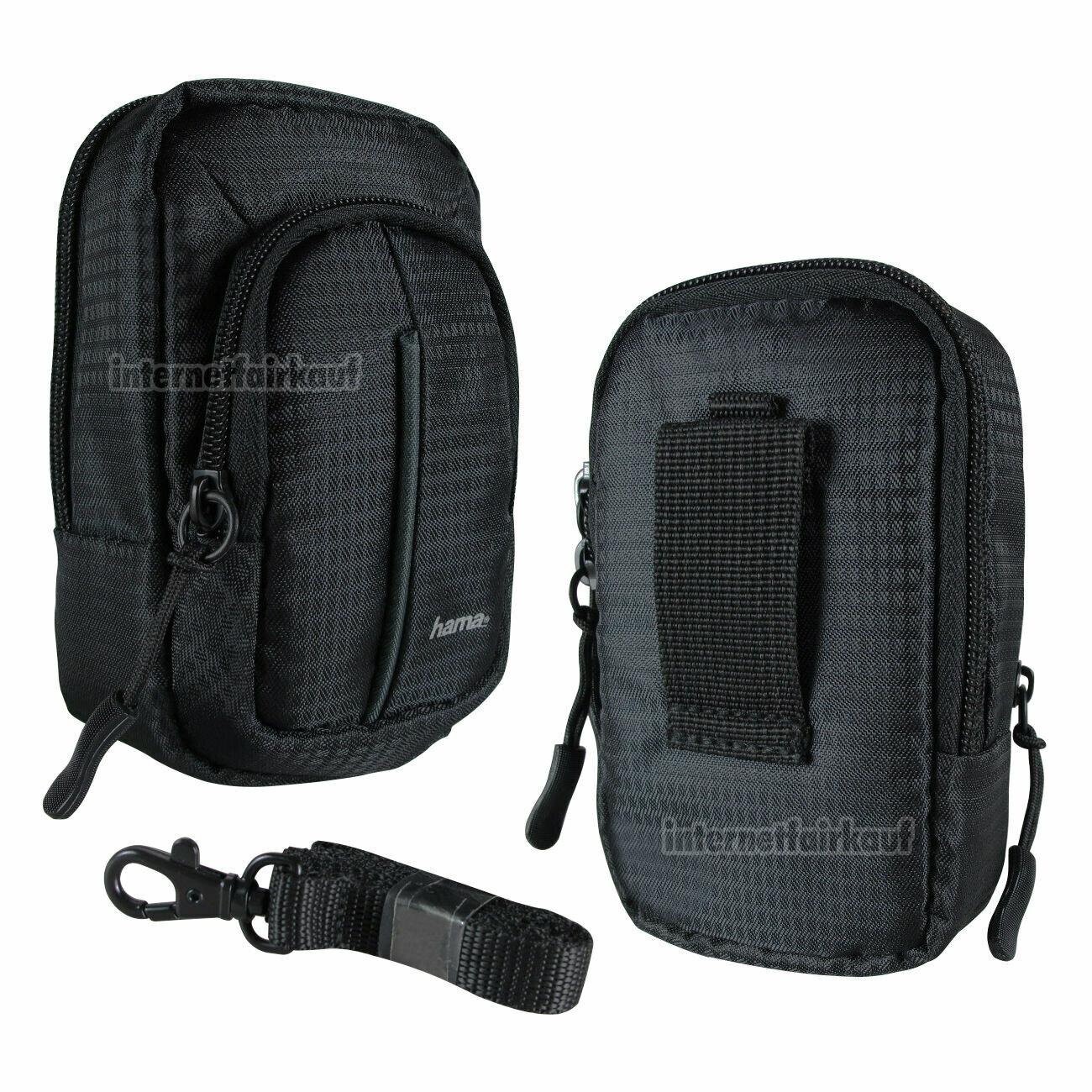 Fototasche schwarz passend für Panasonic DMC-TZ101 DMC-TZ81 DMC-TZ91