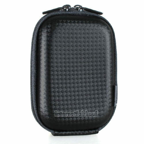 Hama Kameratasche Hardcase Carbon Style 40G schwarz