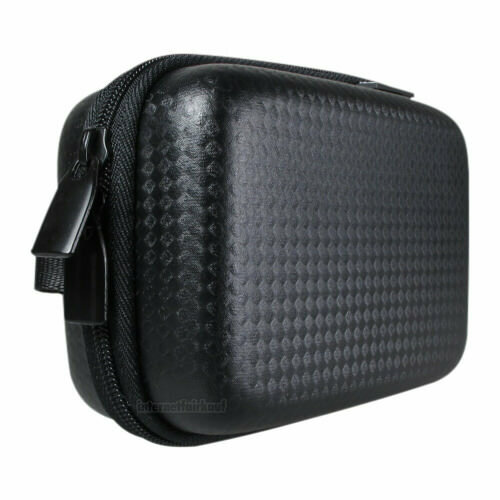 Hartschalen Tasche schwarz passend für Sony DSC-RX100 I II III IV V VI VII