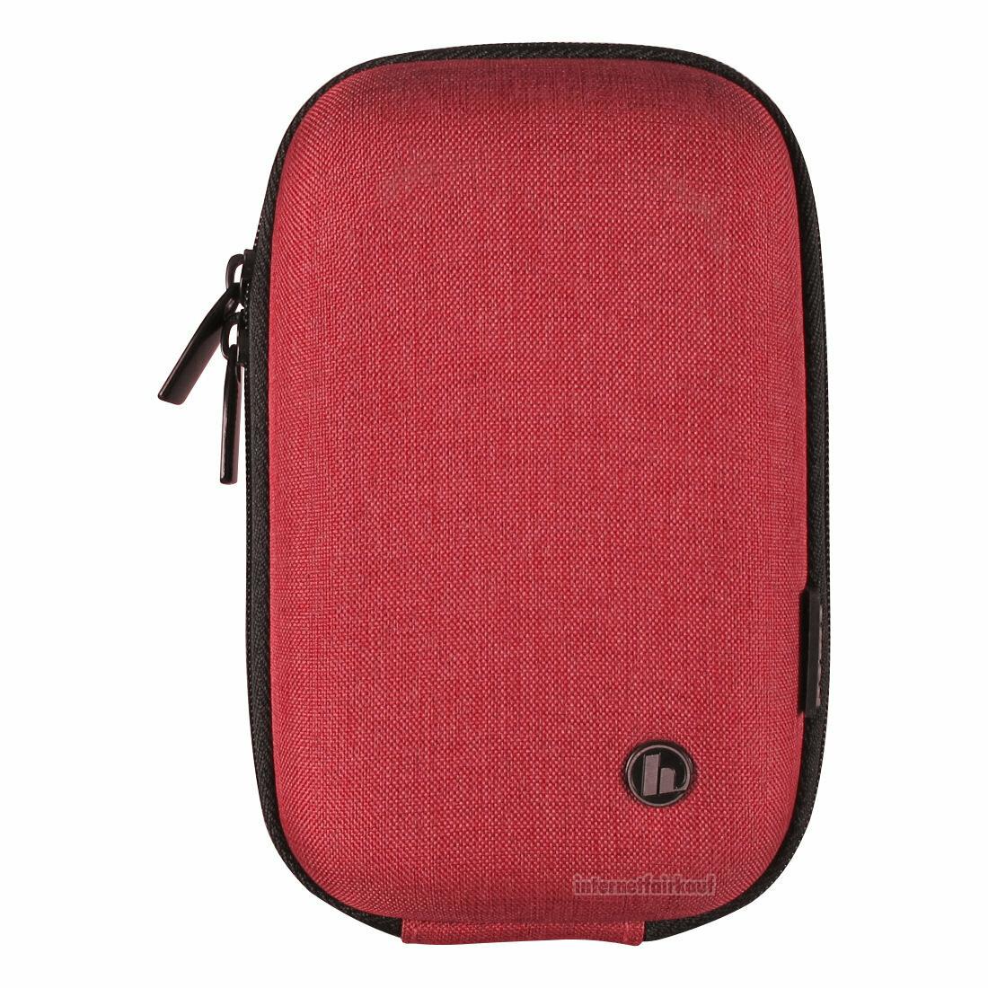Hardcase Kameratasche rot passend für Ricoh WG-5 GPS