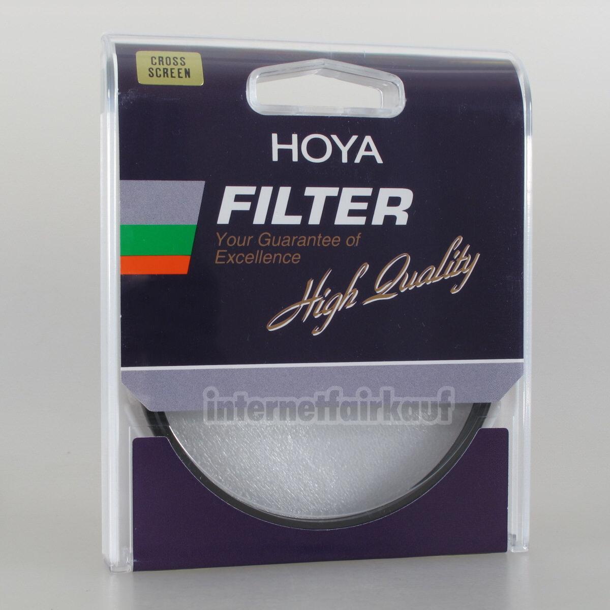Hoya Standard 4x Sternfilter 49mm