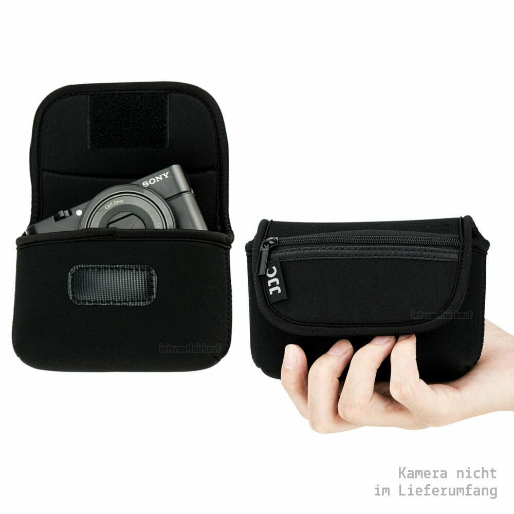 Kamera-Tasche passend für Olympus TG-6 TG-5 TG-4 TG-3 TG-2 TG-1 - Neoprene Hülle