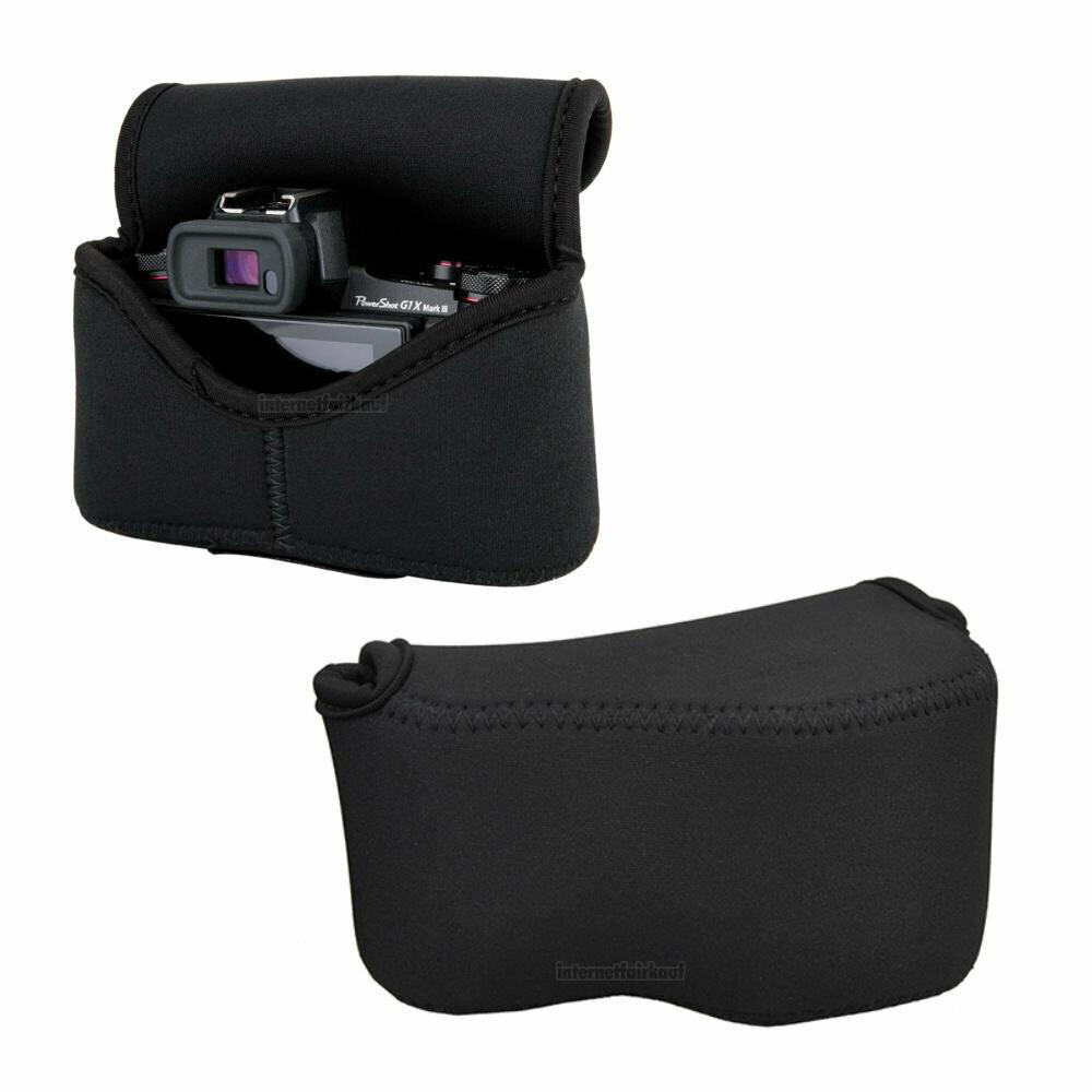Kamera Bereitschaftstasche passend für Sony Alpha A5000 A5100 A6000 und 16-50mm Objektiv