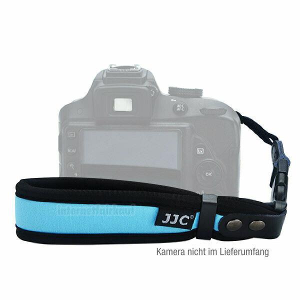 JJC ST-1DSB - blau, Handgelenk Trageband für Kameras