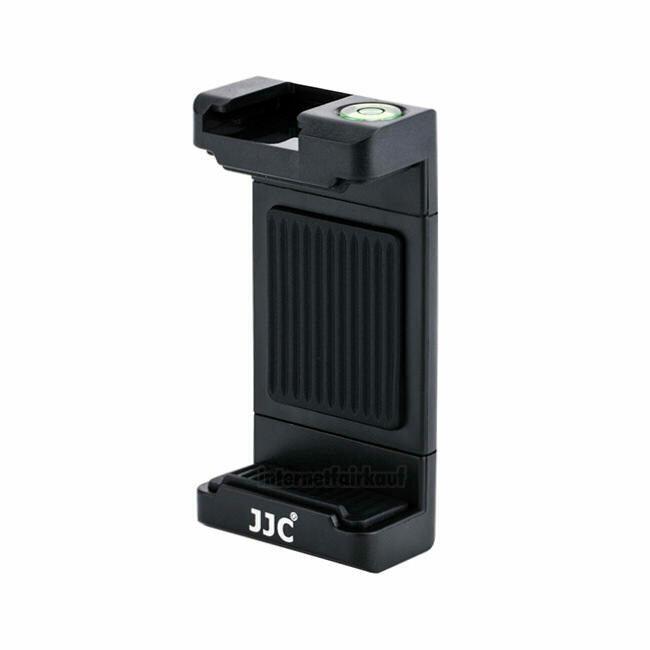 JJC SPC-1A Black - Smartphone Klemme zur Stativbefestigung