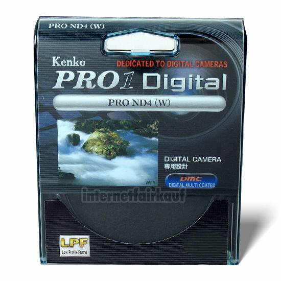Kenko Pro1D Graufilter ND4 55mm