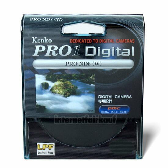 Kenko Pro1D Graufilter ND8 55mm