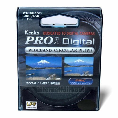 Kenko Pro1D Polfilter circular 62mm