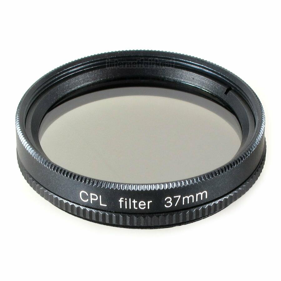 Polfilter circular passend für Panasonic Lumix GM1 mit 12-32 Objektiv