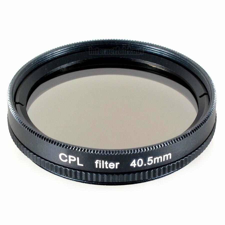 Polfilter CPL passend für Sony Alpha A5000 A5100 A6000 und 16-50mm Objektiv