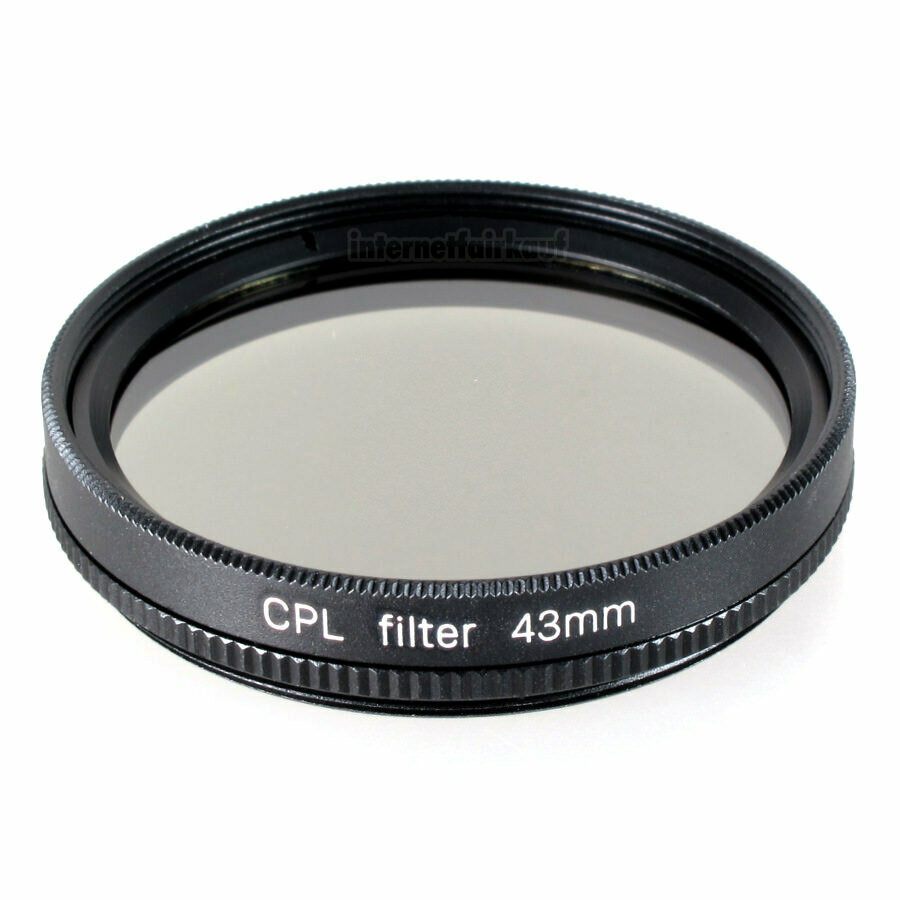 Polfilter circular passend für Canon Legria HF R87 HF R86