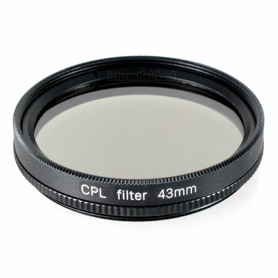 CPL Pol-Filter circular Polarizer passend für Leica D-Lux 7