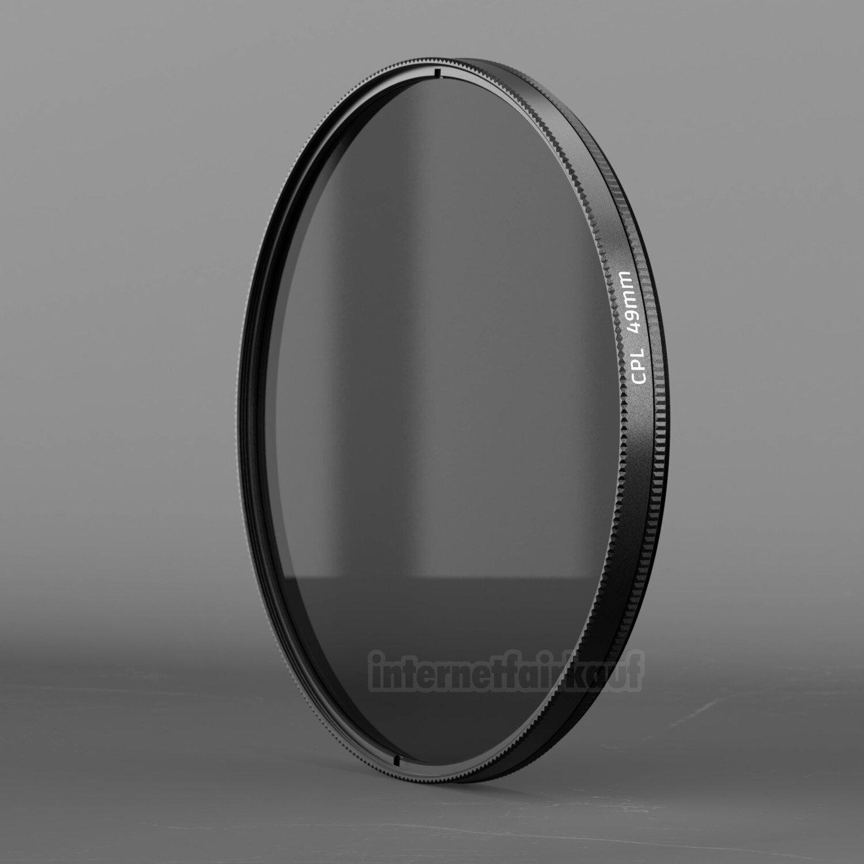 Polfilter circular passend für Panasonic HC-V777 HC-VX878